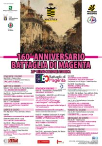 160° ANNIVERSARIO BATTAGLIA DI MAGENTA: IL PROGRAMMA COMPLETO