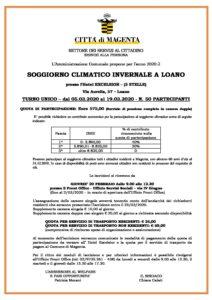 Soggiorno climatico invernale a Loano