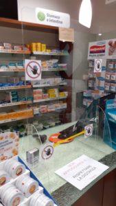 dispositivi protezione farmacie