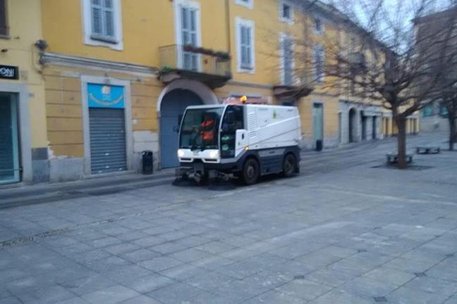 sanificazione strade magenta
