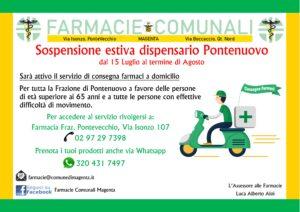 Avviso sospensione estiva del servizio del dispensario di Pontenuovo