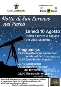 Notte di San Lorenzo: osserviamo le stelle nel Parco del Ticino