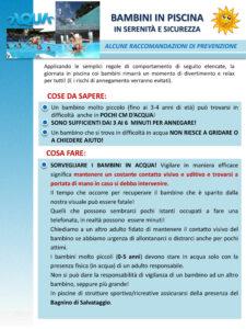 Prevenire gli annegamenti dei bambini, ecco le regole da seguire