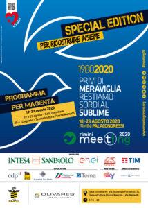 Meeting di Rimini, Magenta ospita l'edizione 'diffusa e online' 2020