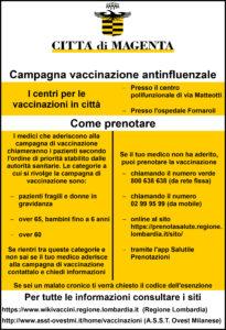 Campagna vaccinazione antinfluenzale, informazioni utili