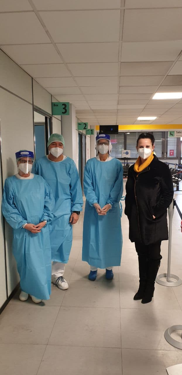campagna vaccinazione antinfluenzale ospedale Fornaroli