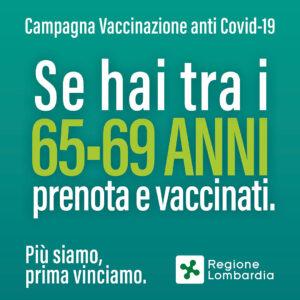 VACCINAZIONE COVID 69-65 ANNI