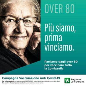 VACCINAZIONE COVID OVER 80