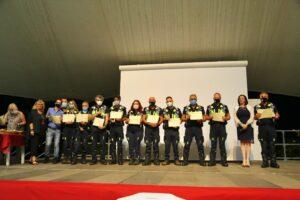 Cerimonia di ringraziamento per i volontari attivi durante l'emergenza Covid: le foto