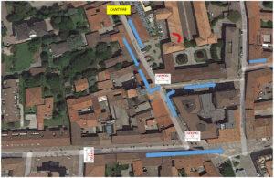 Lavori di manutenzione: chiusura di un tratto di via IV Giugno martedì 14 settembre dalle ore 8.30 alle 12