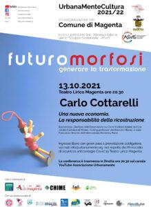 """Appuntamento con Carlo Cottarelli al Teatro Lirico, il Sindaco Calati: """"Dopo musica e teatro tornano in presenza anche le serate culturali"""""""